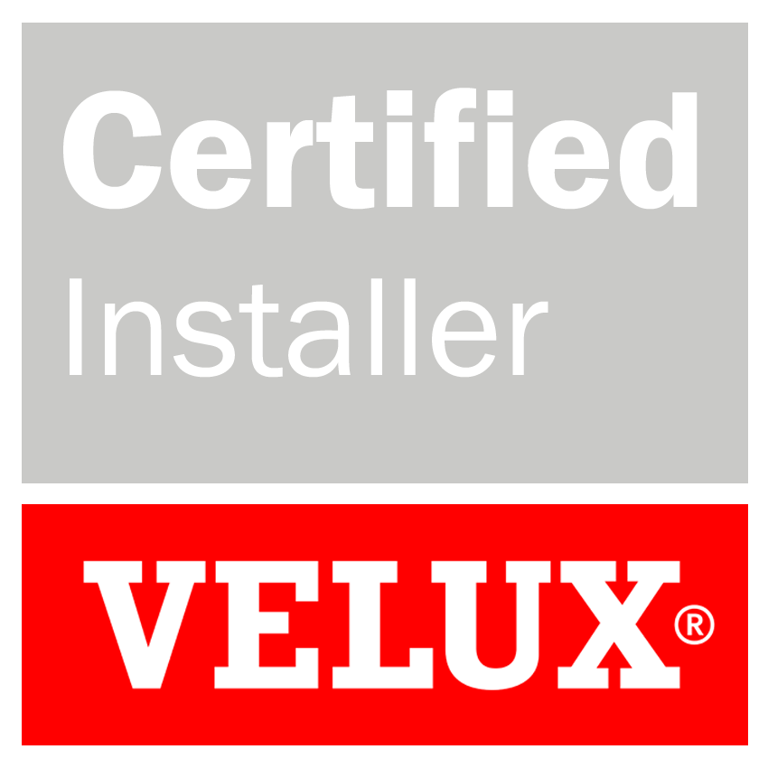 VELUX Certified Installer badge for Brighton & Hove