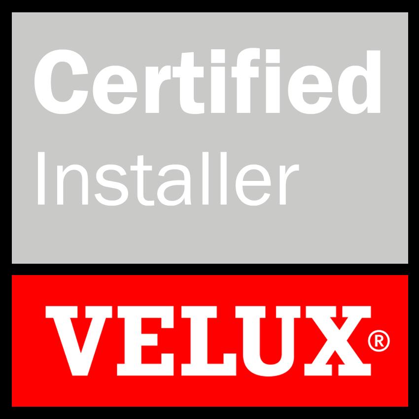 VELUX Certified Installer badge for Brighton & Hove