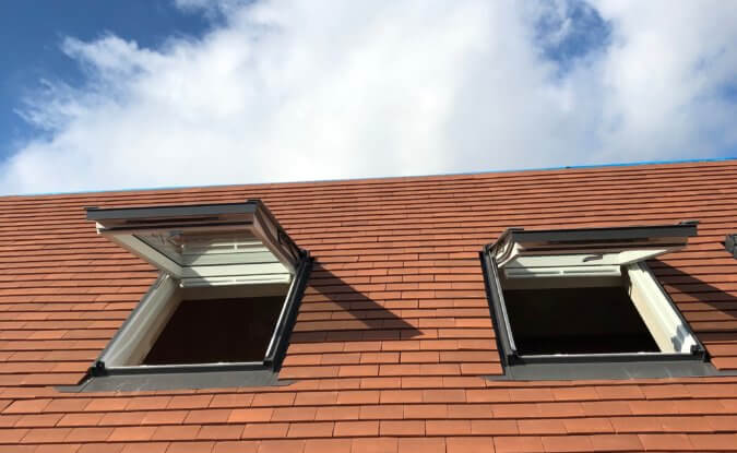 velux roof window automation